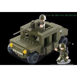 Sluban Pantserwagen M38-B0297