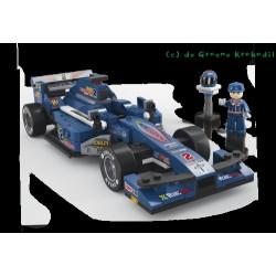 Sluban Racewagen Blauw...