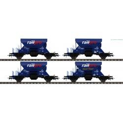 Roco 76137 Railpro 4 delige...