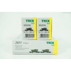 Trix 24211 zwaarlastwagons...