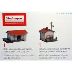 Auhagen 2 bouwpakketten H0