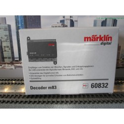 Marklin 60832 decoder M83