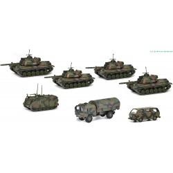 Schuco set met 7 militaire...