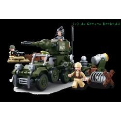 Sluban B0679 WWII Army set