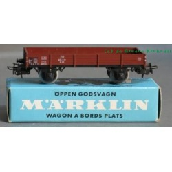 Marklin 4503 DB Lageboordwagon